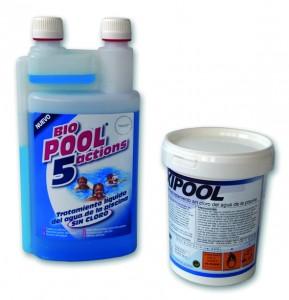 Productos quimicos para piscinas desmontables