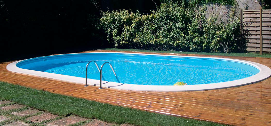 Piscinas desmontables enterradas gre novedades 2015 top for Piscinas ovaladas desmontables