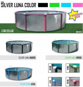 Silver luna color circular