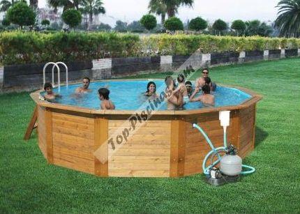 Piscinas desmontables madera precios top piscinas - Precios de piscinas desmontables ...