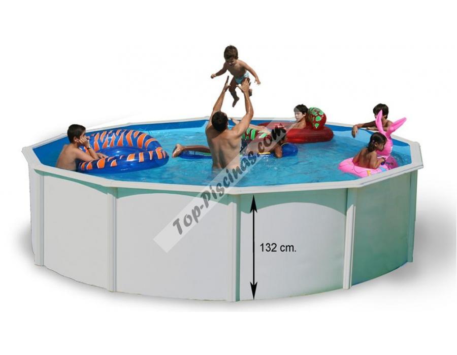 Piscinas elevadas de acero 2015 top piscinas - Precios piscinas desmontables ...